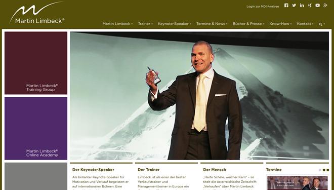 Martin Limbeck Homepage