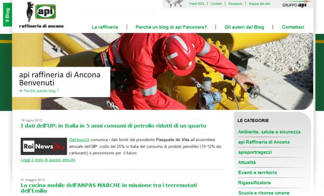 api raffineria di Ancona spa