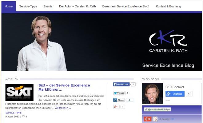 CKR Service Excellence Blog