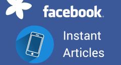 Facebook Instant Articles bald auch für Blogger