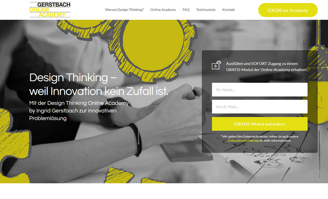 Design Thinking Online Academy