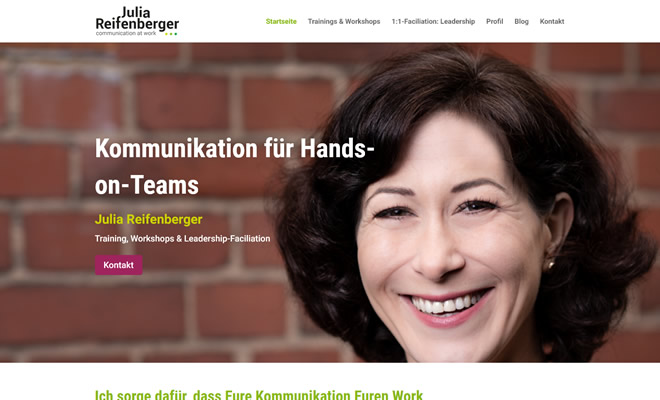 Julia Reifenberger - communication at work
